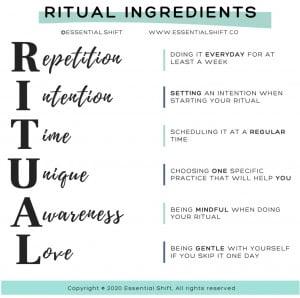 Daily Rituals - Essential Shift